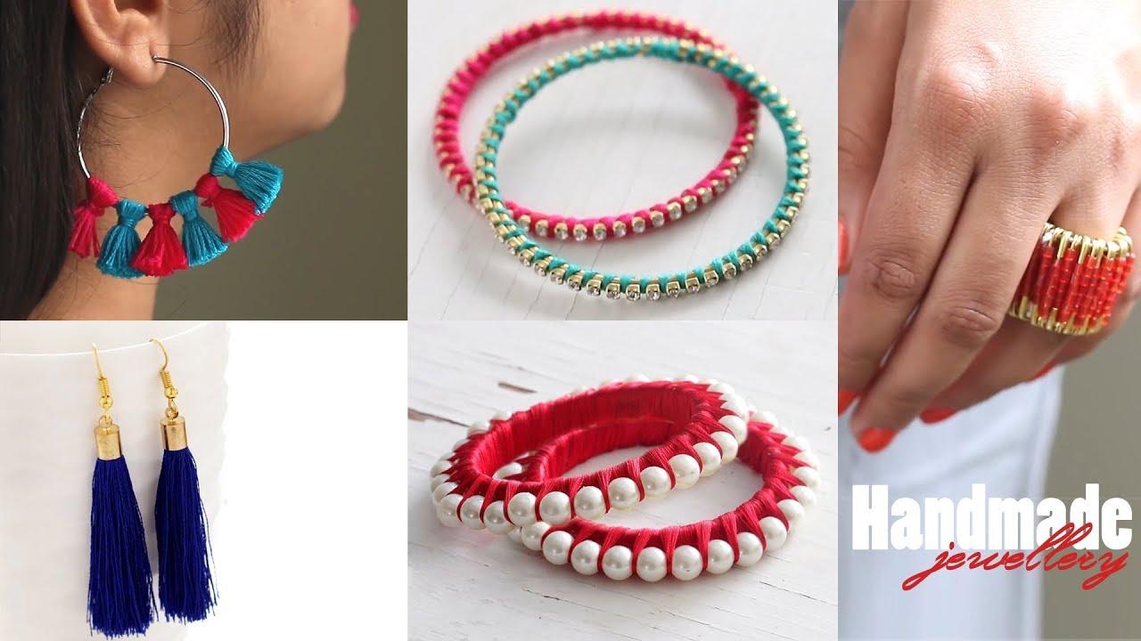 Handmade Jewellery Jewellery Making Ventuno Art Youtube