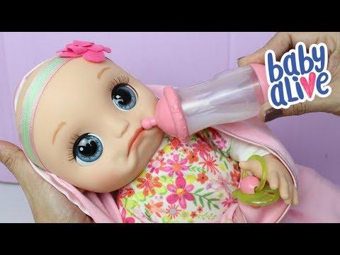 Baby Alive Super Lancamento Que Parece Um Bebe De Verdade Youtube
