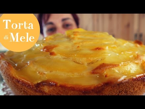 TORTA DI MELE SOFFICE Yogurt & Vaniglia Ricetta Facile - Soft Apple Cake Easy recipe