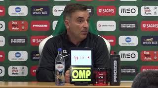 Conferência de imprensa de antevisão: Allianz Cup SCP x RAFC