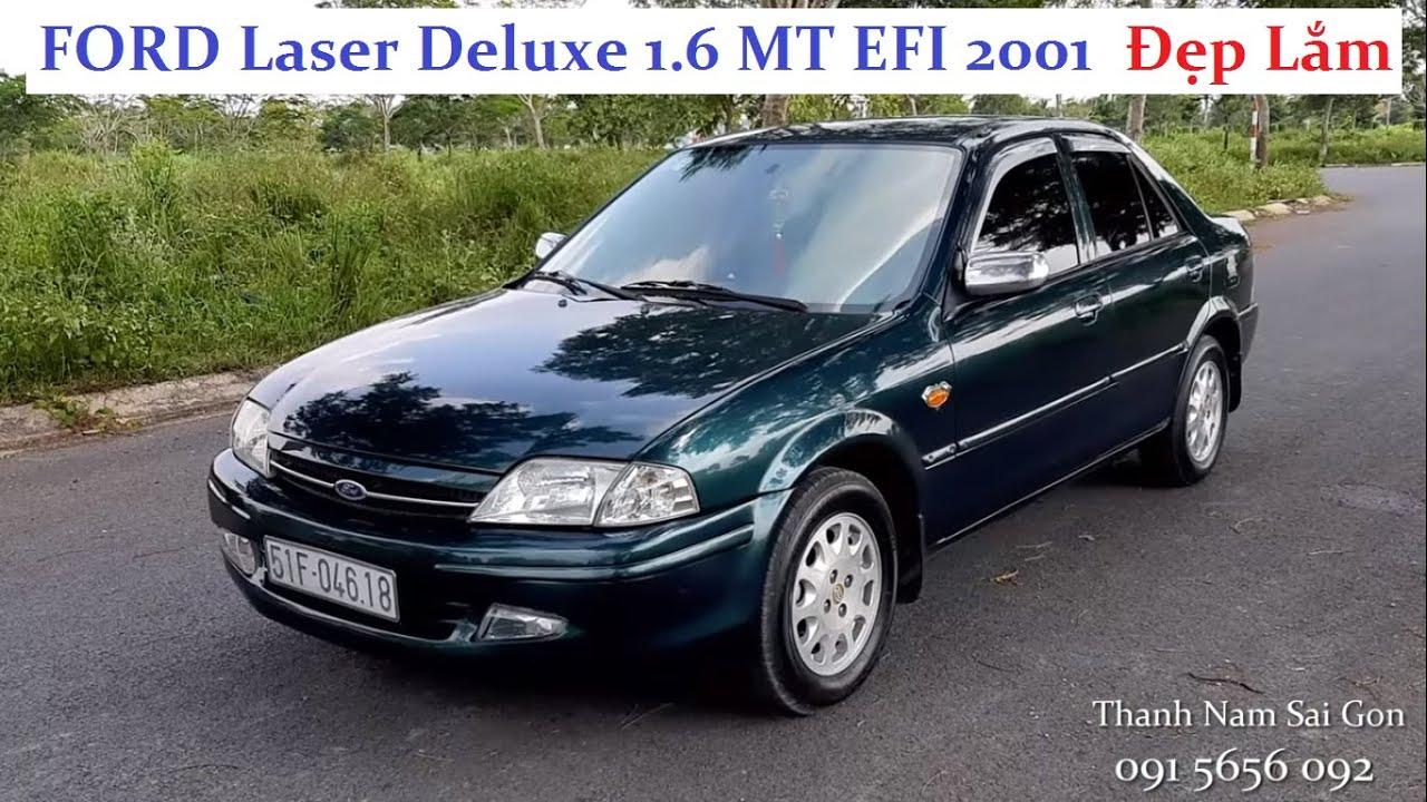 Bán xe ký gởi FORD Laser Deluxe 1.6 MT EFI 2001 – 139 triệu – xe đẹp liền lạc, gầm bệ sạch đẹp!!!