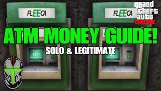 GTA Online ATM MONEY GUIDE!!!