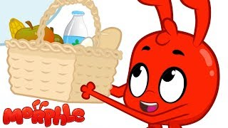 Picnic In The Clouds - My Magic Pet Morphle   Cartoons For Kids   LBB TV Cartoons and Kids Songs