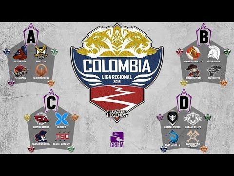 Liga Regional Colombia 2016 - League Of Legends - La Grieta