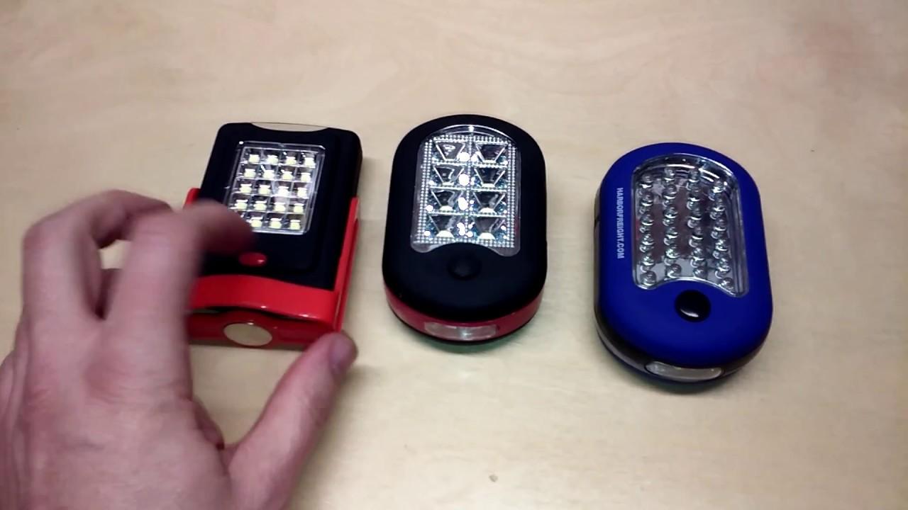 Hyper Tough Walmart Led Work Utility Light Review Worklight Flashlight