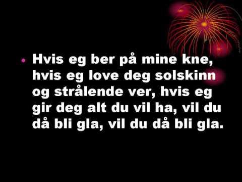 Bjørn Eidsvåg Vis eg ber på mine kner Tekst