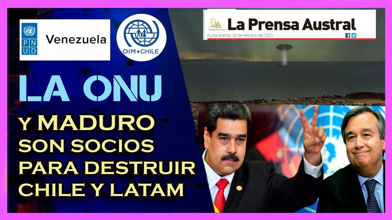 Misterioso caso de alienígenas en Punta Arenas   Se revela que La ONU patrocina a Maduro