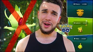 i cant do my celebi quest because of this pokémon go