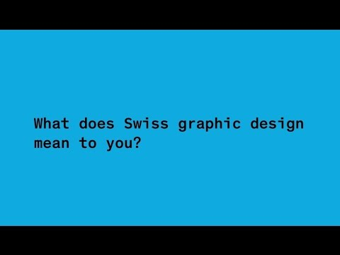 ECAL Graphic Design: Questions and answers