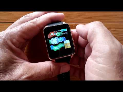 Kingwear GT88 Apple Like Watch with Camera: Unboxing and 1st Look