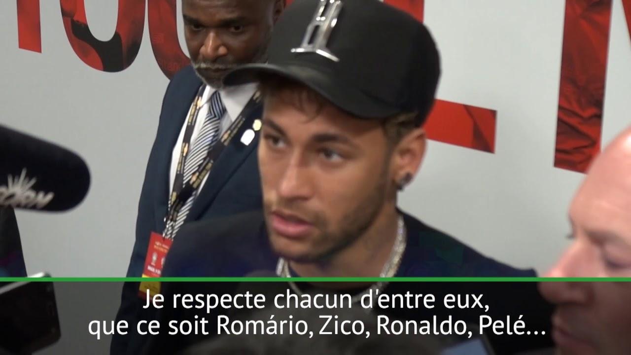 """Neymar : """"Je ne serai jamais meilleur que Pelé"""""""
