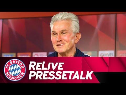 LIVE | FC Bayern Pressekonferenz w/ Jupp Heynckes | #FCBRBL