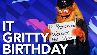 Happy 1st birthday gritty! -