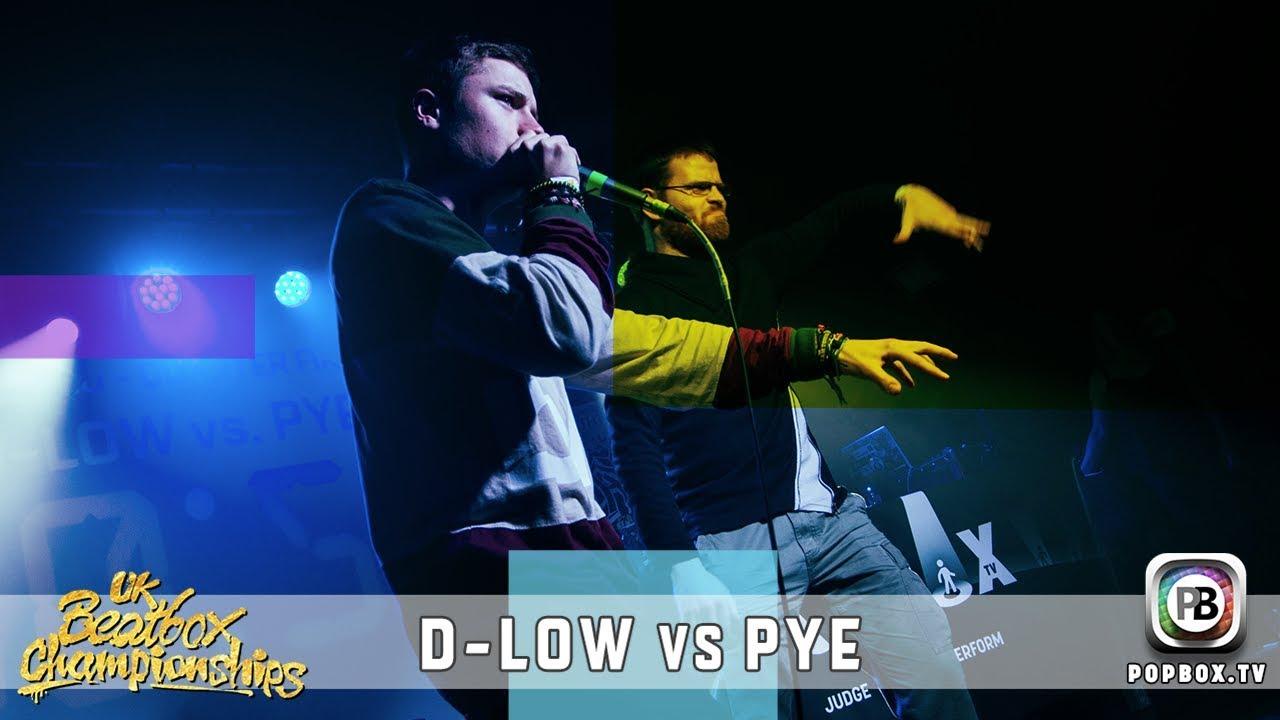 D-Low vs Pye   Solo Quarter Final   2017 UK Beatbox Championships