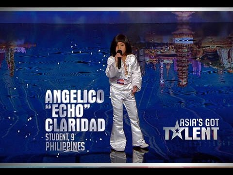 Asia's Got Talent Angelico Claridad