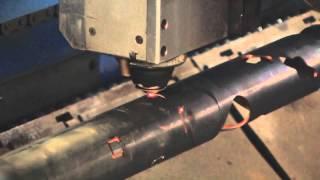 Лазерная резка круглой и профильной трубы - TRUMF 4030