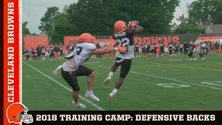 2018 Browns Training Camp: Defensive Backs