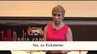 vuclip Bluff Works' Kickstarter Launch With Barbara Corcoran of Shark Tank!