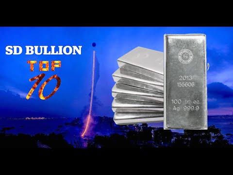 TOP 10 Bullion Products - 100 oz Silver Bars | SD Bullion