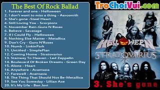 Download Tuyển tập nhạc Rock-Rock Ballad hay nhất mọi thời đại - The Best Of Rock Ballad