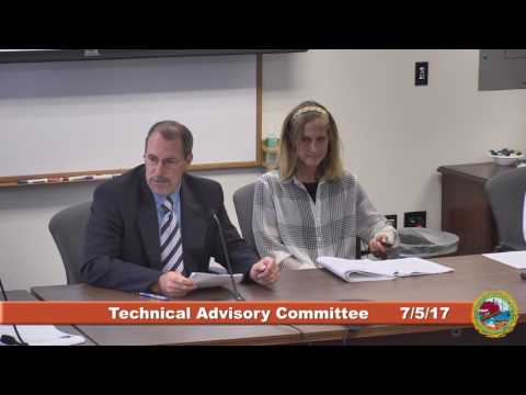 Technical Advisory Committee 7/5/17