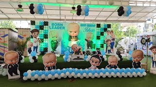 Boss baby theme for kids birthday party in Pune