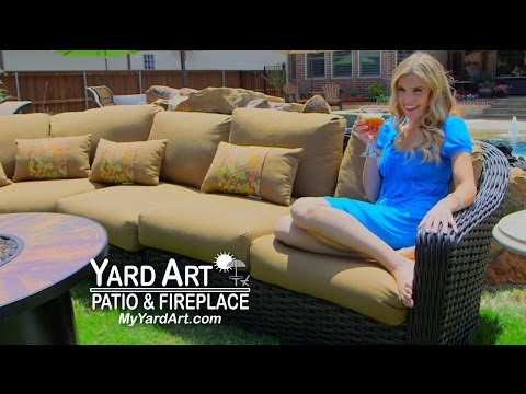 Yard Art Patio & Fireplace on Home and Lifestyle TV