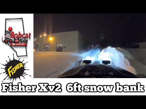 Fisher XV2 6ft Snow Bank
