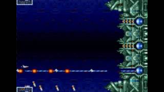 Gradius III stage 9 A and B loop 5