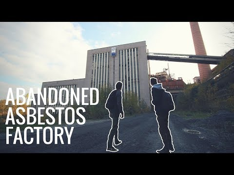 EXPLORING AN ABANDONED ASBESTOS FACTORY!