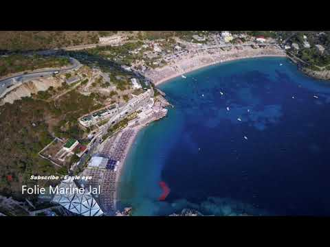 Folie Marine - Jale Beach ALBANIA - Summer 2017 ( BY DRONE 4K )