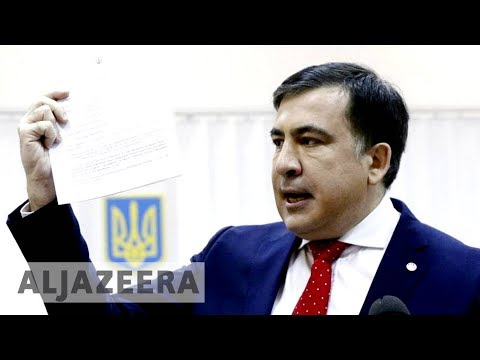 🇺🇦 Saakashvili deported from Ukraine after 'kidnapping'