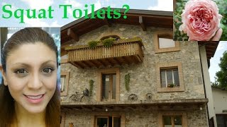 Public Toilets in Europe, Mosquitos, Flowers and Rainbows