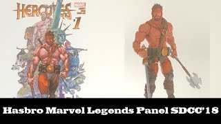 Hasbro Marvel Legends Panel from San Diego Comic Con 2018