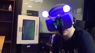 Low-cost position-tracking Daydream VR