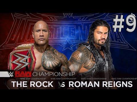 The Rock vs Roman Reigns | Wrestlemania 32