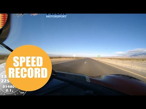 Koenigsegg is world's fastest car after averaging 278mph on closed public road