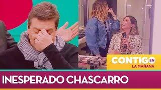 El gracioso chascarro de Camila Recabarren en Contigo en La Mañana