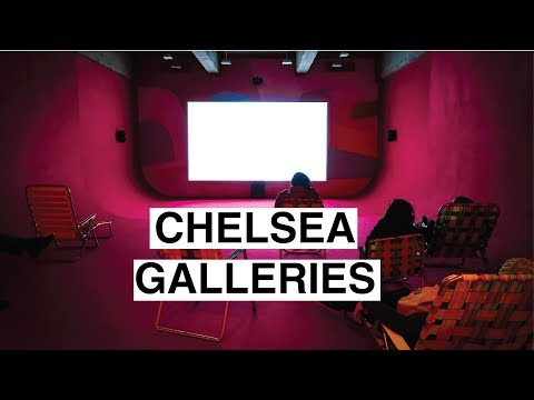 NEW YORK ART GALLERIES + A MOVIE ON A FREEZING DAY | VLOG 8