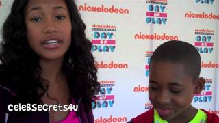 Video Sydney Park & Tylen Jacob Williams Interview - Nickelodeon's WWDOP download MP3, 3GP, MP4, WEBM, AVI, FLV Oktober 2017