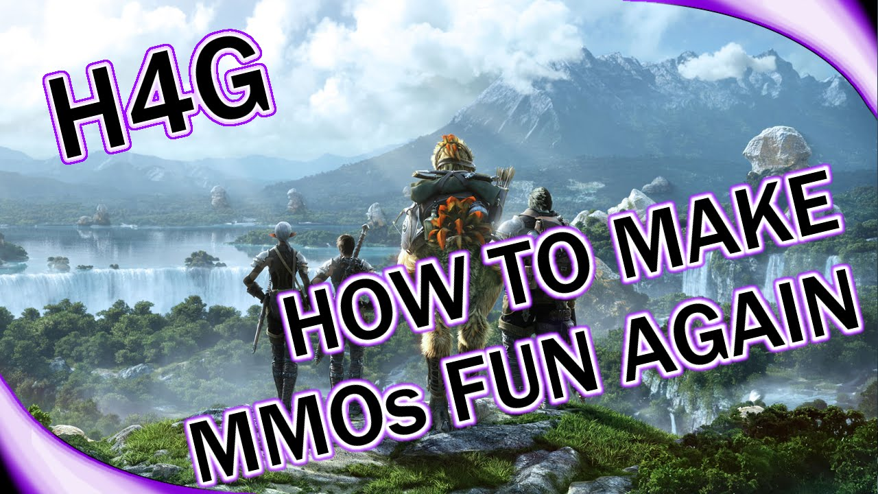 Making MMORPG Fun Again - Top 5 Tips - FFXIV / WoW / SWTOR / Wildstar is  Boring? (1440p 60fps)