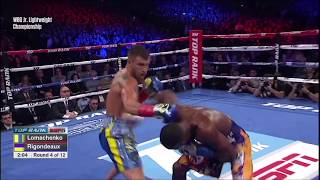 Vasyl Lomachenko vs. Guillermo Rigondeaux Highlights HD