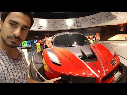Abu Dhabi | Ferrari World | Worlds Fastest Roller Coaster | Danish zehen