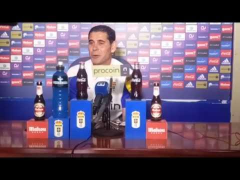 Fernando Hierro, en rueda de prensa (02/03/2017)