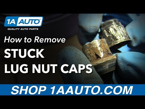 How to Remove Stuck Spinning Lug Nut Cap