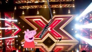 Свинка Пеппа поет песню на шоу Х-Фактор / Свинка Пеппа на русском HD