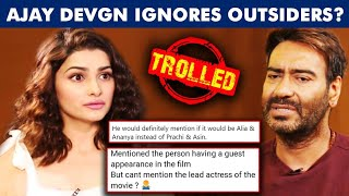 Ajay Devgn SLAMMED By Prachi Desai For Treating Her As An OUTSIDER | Fans REACT