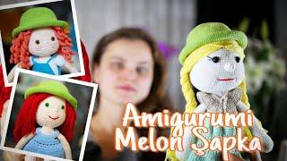 Örgü Bebek Şapka Yapımı Amigurumi Doll Hat ayseilediy