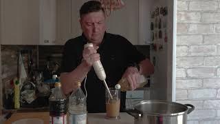 Рецепты от Мантышки. Шашлык из куриных кпыльев в домашнем горчичном майонезе.