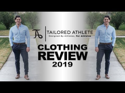 663cc937 MENS CLOTHING TRY ON & REVIEW [2019 TAILORED ATHLETE HONEST REVIEW] -  YouTube